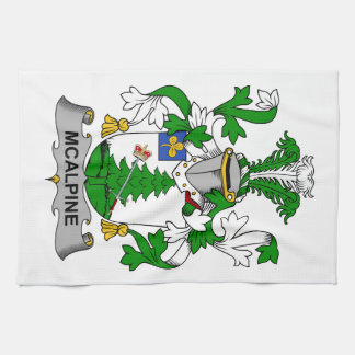 McAlpine Family Crest Kitchen Towel