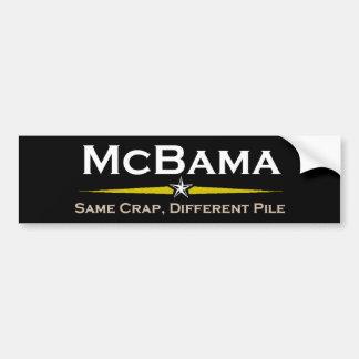 McBama Bumper Sticker