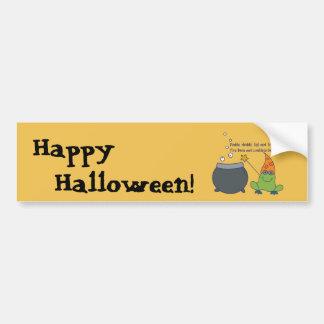 McBeth comique Halloween Autocollant De Voiture