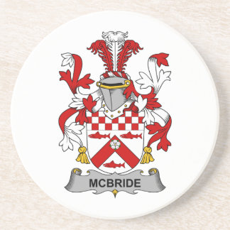 McBride Family Crest Coaster