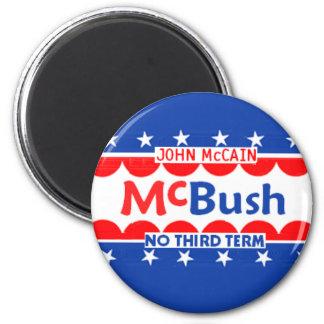 McBUSH NO THIRD TERM Magnet