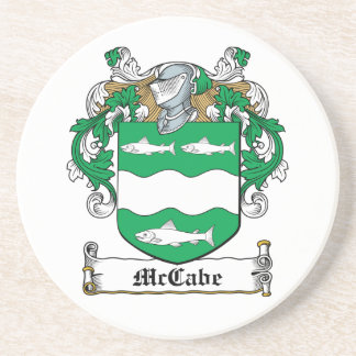 McCabe Family Crest Coaster