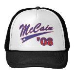 McCain 08 Swoosh Mesh Hat