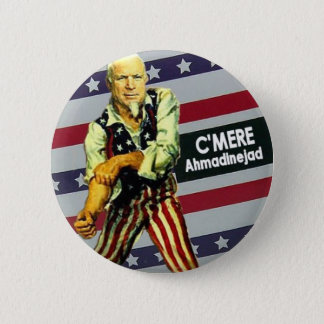 McCain / Ahmadinejad Button