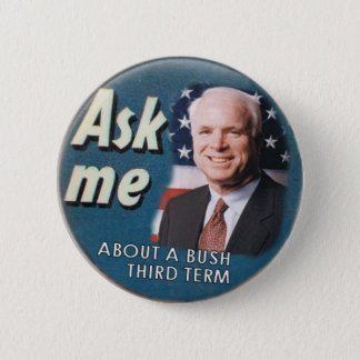 McCain Ask Me  Button