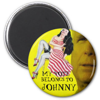 McCain Candystripe Pinup Magnet