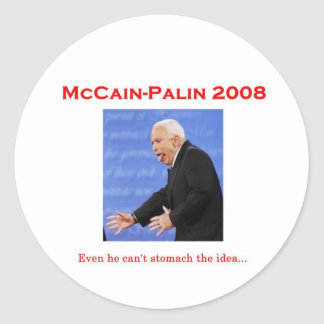 McCain Debate Monster Sticker