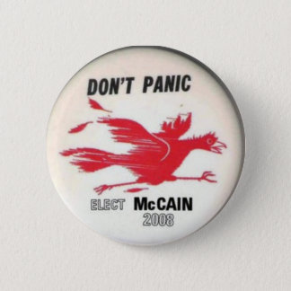 McCain Don't Panic Button