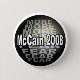 MCCAIN  FEAR 2 INCH ROUND BUTTON