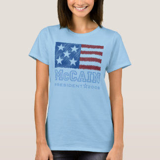 McCAIN Flag T-shirt