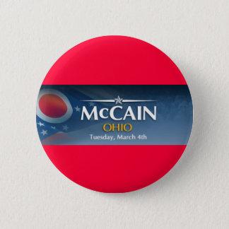 McCain for Ohio 2 Inch Round Button
