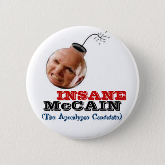 McCain Insane Bomb-Head Button