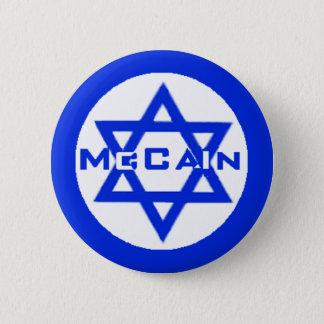 McCain JEWISH Button