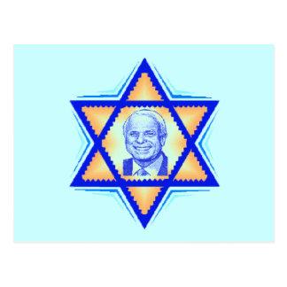 McCain JEWISH Postcard