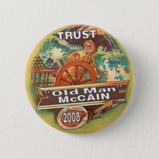 McCain Old Man Button