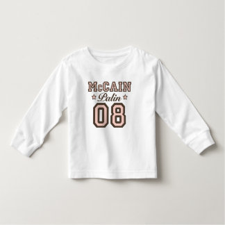 McCain Palin 08 Toddler Long Sleeve Tee Shirt