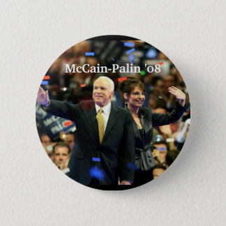 McCain-Palin '08, Vote for our fut... - Customized 2 Inch Round Button