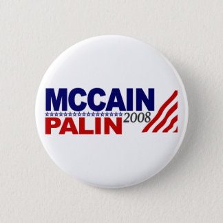 McCain Palin 2008 2 Inch Round Button