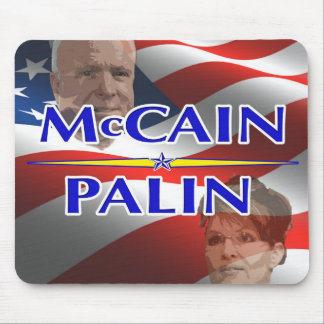 McCain Palin 2008 Presidential Election Mousepad