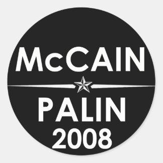McCain - Palin 2008 Sticker