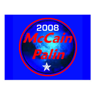 McCain Palin Cosmic Postcard