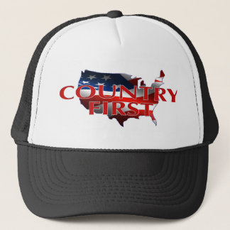 McCain Palin Country First 2008 Collector's  Hat