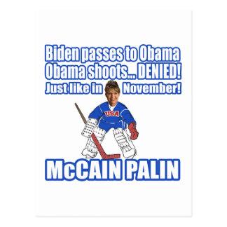 McCain Palin Denied Postcard