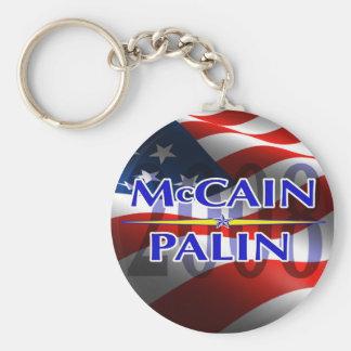 Mccain Palin keyhain Keychain