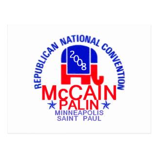 McCain Palin RNC Postcard