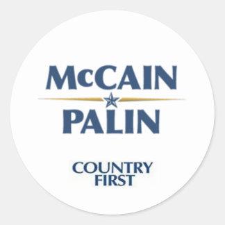 Mccain/Palin Sticker