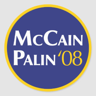 McCain-Palin Sticker