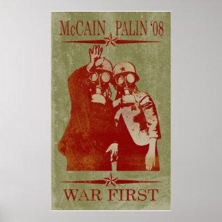 McCain Palin War First Poster