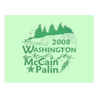 McCain Palin WASHINGTON Postcard