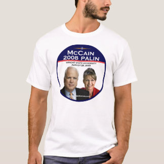 McCain Paulin Announcement Commemorative Wright St T-Shirt