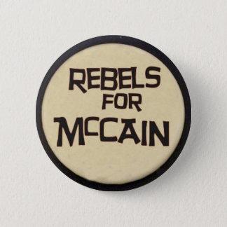 McCain Rebels Button