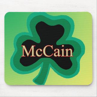 McCain Shamrock Mouse Pads