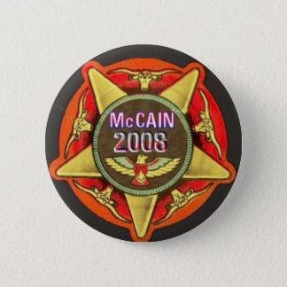 McCain sheriff badge Button