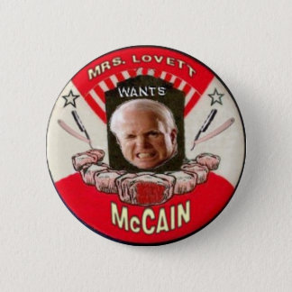 McCain/ Sweeny Todd Button