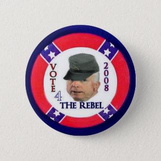 McCain The Rebel Button