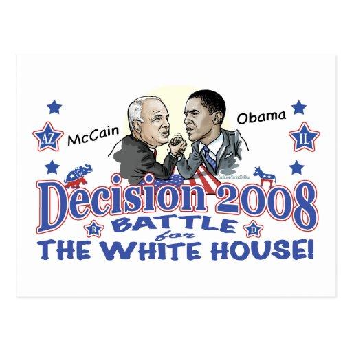 McCain vs Obama 2008 Post Cards