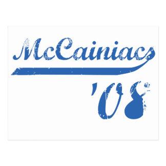 McCainiacs '08 Postcard