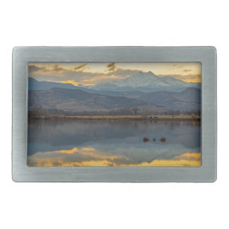McCalls Lake Reflections Belt Buckles