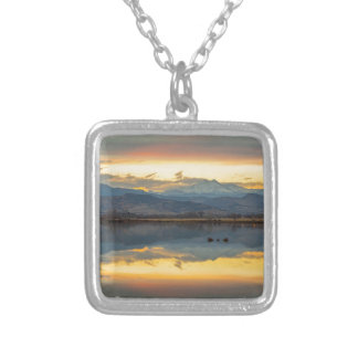 McCalls Lake Reflections Silver Plated Necklace