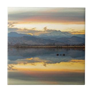 McCalls Lake Reflections Tile