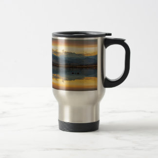 McCalls Lake Reflections Travel Mug