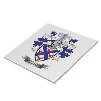 McCallum Family Crest Coat of Arms Tiles
