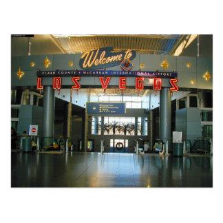 McCarran Airport Las Vegas Concourse D Postcards