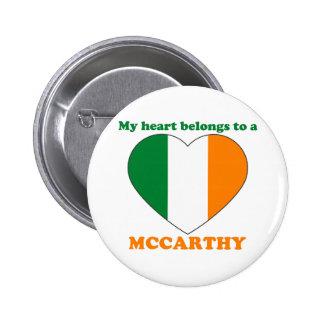 Mccarthy 2 Inch Round Button