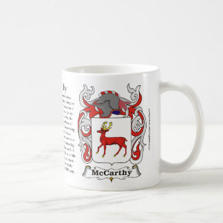 McCarthy Family Coat of Arms Mug