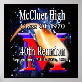 McCluer High Class of '70 40th Reunion Poster